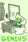 Peridot's Toilet Escape by Selkra