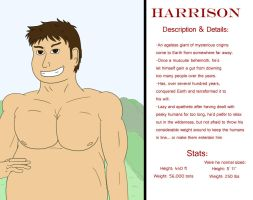 Character Profile: Harrison by falchiongamma