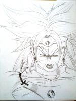 With inspiration... Broly by Rayodball