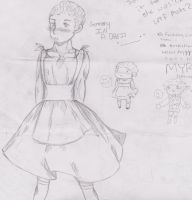 germany in a dress .___. by mangaluver567