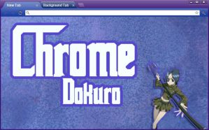 KHR: Chrome Dokuro Google Chrome Theme by yohohotralala