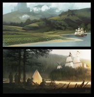 colour comps by Ben-Andrews