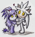 Little Silver and Blaze by Bonka-chan