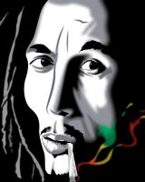 The Late Great Bob Marley by garrett-btm