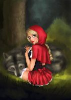Little Red Riding Hood by tesiangirl