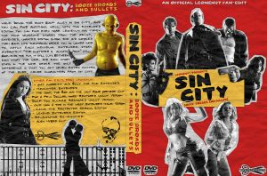 Sin City FanEdit Custom Cover by UseYourIllusionII