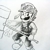 Luigi Doodle by Angle-007