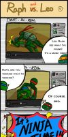 TMNT comic strips 4 by Colend