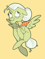Granny Smithicorn by Pixel-Prism