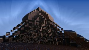 Pong 40- New Pyramid Under Constrution by Topas2012