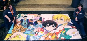 Ouran HighSchool Host Club with Artists by ChalkTwins