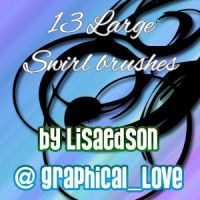 Large Swirls - PS7 n imagepack by lisaedson