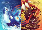 Alpha and Omega by Noktowl