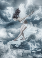 Sky Surfing by Lhianne