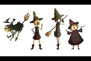 Witches by Fred-H