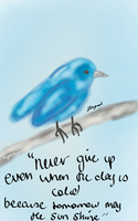 BlueBird by Megalomaniacaly