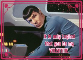 Spock Valentine by Spencers13