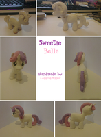 Sweetie Belle figure by Laggingpepper