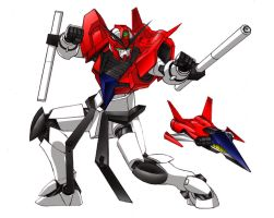 Silek Gundam with Core Fighter by Tecmopery