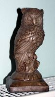 owl statue by syccas-stock