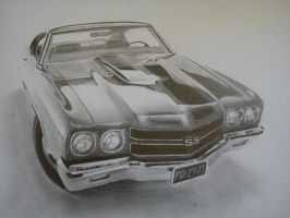 Chevrollet chevelle  SS by Saules-dievas