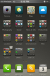 iPhone4 Homescreen - 03.15.11 by visual
