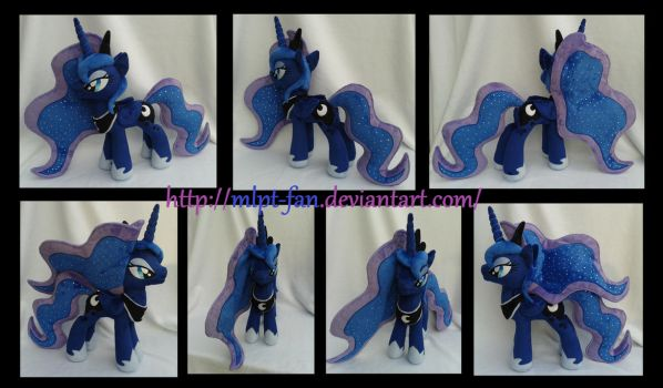 20 inches Princess Luna new pattern by calusariAC