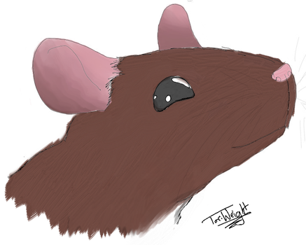 Cute Rat- colored by TheSnickers545
