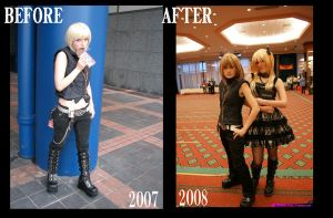 Mello Before and After by Sephie-monster