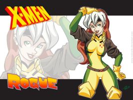 Rogue Wallpaper by RickCelis