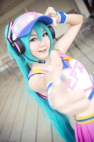 Project Diva : Miku - Cheer II by TcFang