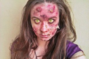 Infected Makeup by Zee-Cosplay