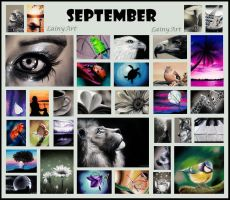 September's ACEO Cards for Charity by secrets-of-the-pen