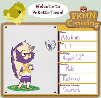PKMN Crossing App by AdiosSirMatador