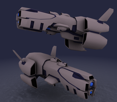 AFF- Deimlos Battlecruiser v2 by failurecrusade