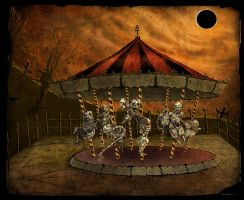 Corpse Carousel by asunder