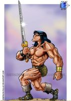 CONAN - A LEI DO ACO / THE LAW OF STEEL by Emerson-Fialho