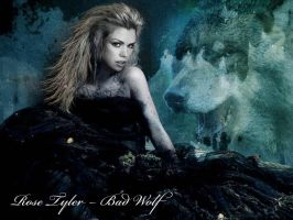 The bad wolf by GwenCooper