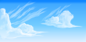 Clouds attempt by starrys