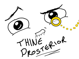 Thine Prosterior by FunkMonkey777