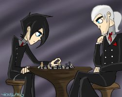 Vlad and Dan - Chess by HezuNeutral