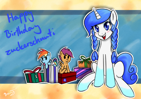 Happy Birthday Zuckerschnuti by BenjiK
