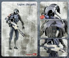Legion action figure card by shatinn