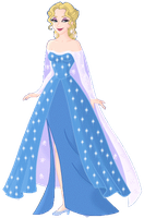 Elsa the Snow Queen PNG by Astrogirl500
