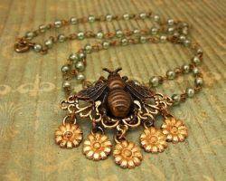 Honeybee Necklace by JLHilton