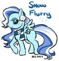 .Snow Flurry. by PatchworkedHeart