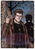 Dean Winchester Sketch Card by tonyperna