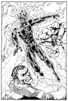 Human Torch commission by Dogsupreme