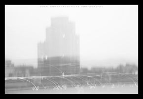 A City In Mono VI. by FaiblesseDesSens