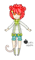 Unnamed Oc by acidicapple